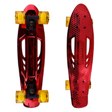 Pennyboard Karnage Chrome Retro - Red-Yellow