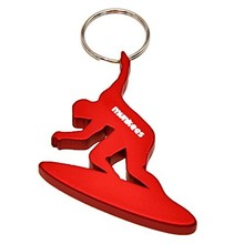 Bottle Opener Munkees Surfer - Red