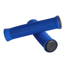 Bar grips for scooter FOX PRO - Blue