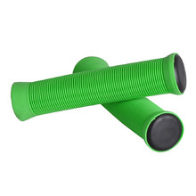 Bar grips for scooter FOX PRO - Green