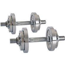 Adjustable Dumbbell Set inSPORTline 2 x 3-10 kg