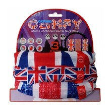 Universal Multi-Functional Neck Warmer Oxford Comfy 3-Pack - Union Jack