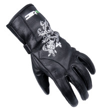 Women's Leather Gloves W-TEC Natali