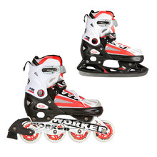 WORKER Nolan 2in1 in-line skates - Red