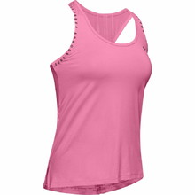 Women's Tank Top Under Armour Knockout - Lipstick