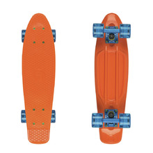 "Penny Board Fish Classic 22"" - Orange-Blue-Transparent Blue"