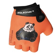 Children's Cycling Gloves Polednik Baby - Panda