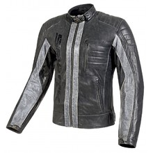 Men's Leather Motorcycle Jacket Spark Hector