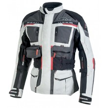 Men's Textile Motorcycle Jacket Spark Avenger - Grey