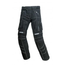 Unisex Motorcycle Trousers Spark Pero - Black
