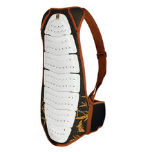 Spartan Back Protector - White