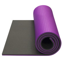 Exercise Mat Yate Fitness Super Elastic - Dark Grey