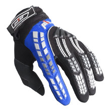 Child Motocross Gloves Pilot - Black-Blue