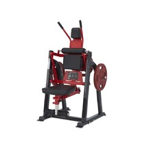 Abdominal Crunch Machine Steelflex Plateload Line PLAC - Black-Red