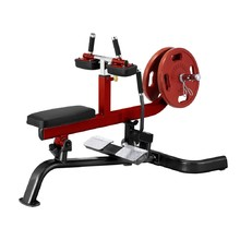 Seated Calf Raise Machine Steelflex PlateLoad Line PLSC