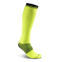 Compression Knee Socks CRAFT Body Control - Yellow