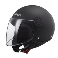 Motorcycle Helmet LS2 OF558 Sphere Solid - Matt Black