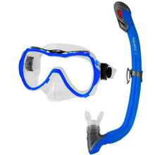 Children's Diving Goggles Aqua-Speed Enzo with Snorkel Samos Blue