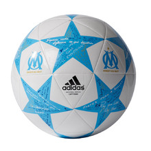 Soccer Ball Adidas Capitano Finale 16 Olympique Marseille AP0403 White-Blue