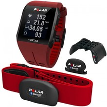 Sport Tester POLAR V800 HR COMBO - Red