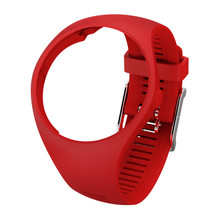 Replacement Strap for Sports Watch POLAR 200M Red