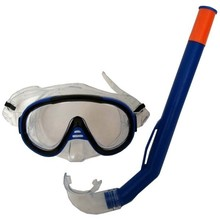 Snorkelling Set Francis Cristal Junior - Blue