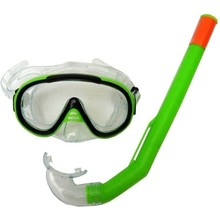 Snorkelling Set Francis Cristal Junior - Green