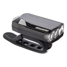 Super Bright 3LED Front Light CRUSSIS White – USB Charged
