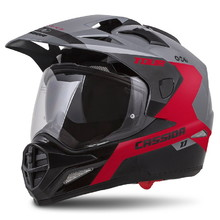 Motorcycle Helmet Cassida Tour 1.1 Spectre - Grey/Red/Black