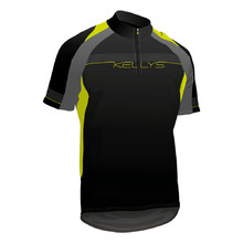 cycling dress KELLYS Pro Sport - short sleeve - Lime