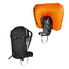 Avalanche Backpack Mammut Pro Removable Airbag 3.0 45L - Black