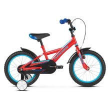 "Children's Bike Kross Racer 3.0 16"" – 2019 - Red / Blue Glossy"