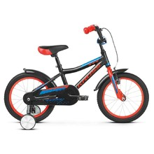 "Children's Bike Kross Racer 4.0 16"" – 2019 - Black / Red / Blue Glossy"