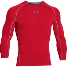 Men's Compression T-Shirt Under Armour HG Armour LS - Red