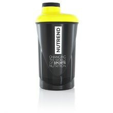 Shaker Nutrend 2019 600ml - Black-Yellow