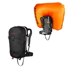 Avalanche Backpack Mammut Ride Removable Airbag 3.0 30L - Black
