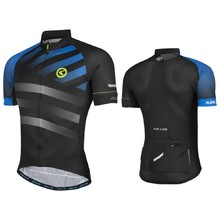 Short-Sleeved Cycling Jersey Kellys Rival - Blue