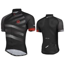 Short-Sleeved Cycling Jersey Kellys Rival - Grey