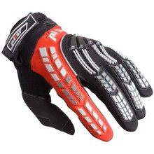 Child Motocross Gloves Pilot - Black-Red