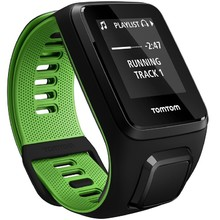 Sporttester TomTom Runner 3 Cardio + Music - Black-Green