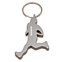 Bottle Opener Munkees Runner - Silver