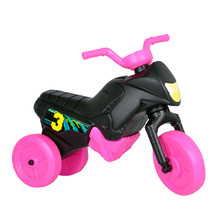 Balance Bike Enduro Mini - Black-Pink