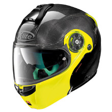 Motorcycle Helmet X-lite X-1004 Ultra Carbon Dyad Fluo Yellow