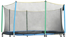 Tubeless Trampoline Safety Net 366 cm - for 8 poles