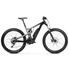 "Full-Suspension E-Bike Kross Soil Boost 1.0 SE 27.5"" – 2019 - Black / Graphite"