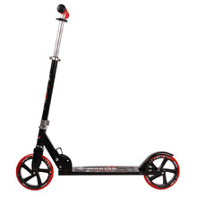 Spartan Jumbo scooter - Black-Red