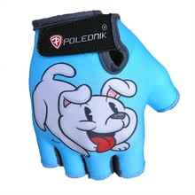 Children's Cycling Gloves POLEDNIK Baby New - Puppy