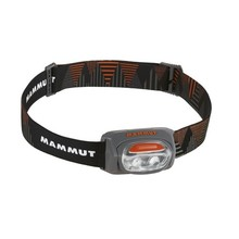 Headlamp MAMMUT T-Base - Grey-Black