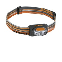 Headlamp MAMMUT T-Peak - Orange-Grey