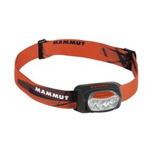 Headlamp MAMMUT T-Trail - Black-Orange